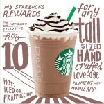 Starbucks Offer ANY Handcrafted Beverage Deal! – 1杯星巴克饮料只需RM10!