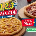 Domino's Pizza Offer Pizza at RM1 only! – 比萨仅RM1优惠!