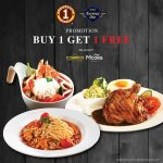 Station One Leisure Cafe Buy 1 Free 1 Main Course Promo! – 买1送1主菜优惠促销!