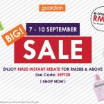 Guardian Offer 4-DAY Big Sale! – Guardian4天特价优惠促销!