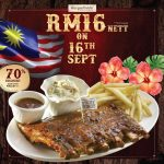 Morganfield's Offer Special Deal! – Morganfield's值RM54.90的1/2排骨,仅RM16!
