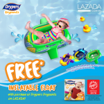 FREE Drypers Inflatable Float Giveaway! – Drypers送出充气玩具船!