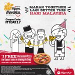 FREE 1 Pizza Hut Personal Pizza Giveaway! – 免费1个个人披萨吃!