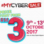 Fipperslipper MyCyberSale 2017 Deal! – Fipperslipper鞋子品牌促销,优惠从RM3起!