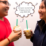 Starbucks Special Deal Tall Frapp Only at RM2.90! – 星巴克优惠饮料仅RM2.90!