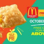 FREE McDonald's Hot and Crispy Apple Pie Giveaway! – 免费麦当劳脆皮苹果派吃!
