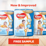 FREE New Huggies Dry Pants Sample Giveaway! – 免费Huggies新的宝宝尿片样品, 寄到家!