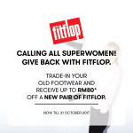 FREE Fitflop RM80 Rebate Voucher Giveaway! – 免费Fitflop RM80回扣优惠券!