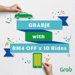 GRABJE Is Back, Up to RM40off Discount! – Grab Car折扣高达RM40优惠!