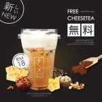 FREE CHIZU DRINK CheeseTea Drink Giveaway! – 优惠免费芝士茶饮料喝!