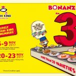 Sushi King Bonanza is back! – 寿司一碟仅RM3而已!