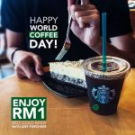 Starbucks Offer Freshly Brewed Coffee or Cold Brew at Only RM1 Deal! – 星巴克优惠冷咖啡仅RM1而已!