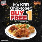 Kenny Rogers Roasters Buy 1 Free 1 Chicken and Pasta Meal Deal! – 烤鸡意大利面买一送一优惠促销!
