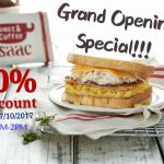 Isaac Toast & Coffee Popular Korean Sandwich 50%off Discounts! – 韩国著名吐司半价优惠!