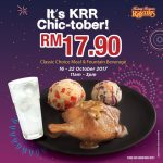 Kenny Rogers ROASTERS Special Monday Treat Deal! – 烤鸡特优惠促销!