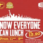 The Manhattan FISH MARKET Having Everyone Can Lunch from RM13.90! – 西餐厅优惠套餐仅从RM13.90起!