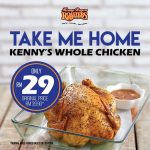 Kenny Rogers ROASTERS Offer Whole Chicken Deal! 整只烤鸡仅RM29!