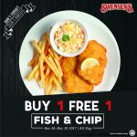 Swensen's Offer Buy 1 FREE 1 Promo! – Swensen's西餐厅优惠买一送一促销!