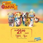 Famous Amos Special Fancy Animal Mug + Cookies Deal! 优惠特别花式动物杯+曲奇促销!