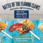 The Manhattan FISH MARKET The Battle Of The Flaming Claws Deal! – 全虾/蟹宴优惠促销!