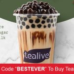 Tealive RM6.50 Drink Voucher at Only RM3! -TealiveM6.50饮料券,仅RM3而已!