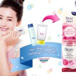 FREE  Biore Trial Size Bottle Of Perfect Cleasing Water Giveaway! – 免费卸妆产品样品赠品!