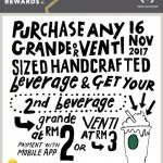 Starbucks Offer Beverage Drink at Only RM2! – 星巴克咖啡只需RM2优惠!