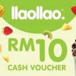 RM10 llaollao Cash Voucher at RM5 Only! – 现金优惠券半价!