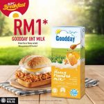 Goodday Milk Offer UHT Honey Milk at Only RM 1! – Goodday Milk RM1 优惠价!