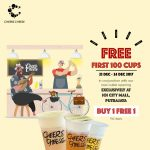 FREE Cheers Cheese Drinks Giveaway! – 请你喝免费芝士奶茶!