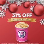 Baskin-Robbins Offer Any Handpacked Ice Cream Deal! – 冰淇淋优惠31%的折扣促销!
