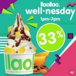 llaollao Malaysia discount 33%off Your Medium, Large and Sanum Tubs Deal! – llaollao冷冻酸奶大中小,33%折扣优惠!