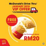 FREE McDonald's Apple Pie Giveaway! – 免费麦当劳苹果派吃!