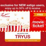 FREE Welcome Gift 1 TGV Movie Ticket Giveaway! – 免费TGV戏票!