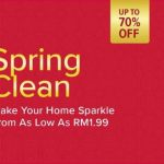 Lazada Malaysia Spring Clean Crazy Deal As Low A RM1.99! – 打扫除疯狂优惠促销,低至RM1.99!
