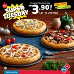 Domino's Special Korean Deal! – Domino's韩国比萨优惠,优惠价低至RM3.90而已!