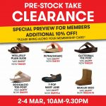 fitflop Malaysia Pre-Stock Take Clearances! – fitflop鞋子旗舰店促销,额外10%的折扣!