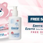 FREE Ezerra Plus and Ezerra Extra Gentle Cleanser Giveaway! – 免费宝宝护肤试用样品!