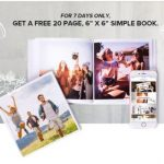 FREE 6×6 Simple Photobook Giveaway! – 免费简约Photobook相册书!
