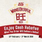 KFC Delivery Wangderful Box Get up to RM38 Cash Rebate! – 肯德基Wangderful Box获得高达RM38的现金回扣!