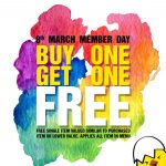 Eggette Lab Buy 1 FREE 1 Member's Day Special!-鸡蛋仔买一送一优惠促销!