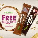 FREE O'Forest Quinoa Cocoa or Quinoa White Coffee Sachets Giveaway! – 免费可可或白咖啡包装送出!