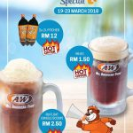 A&W School Holiday Special! – A&W学校假期优惠特价!