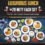 The Manhattan FISH MARKET Offer NEW Luxurious Lunch Promo! – 西餐厅优惠豪华套餐优惠价从RM20起!