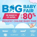 Lazada The Biggest Online Baby Fair Is Back! – 宝宝嘉年华展,高达80%的折扣宝宝产品!