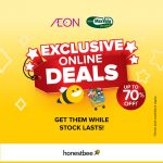 AEON MaxValu Prime Exclusive Online Deals, up to 70%off Discount! – AEON独家网上优惠,折扣高达70%折扣!