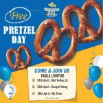 FREE Auntie Anne's Cinnamon Sugar or Original Pretzel Giveaway! – 请你吃免费椒盐脆饼!
