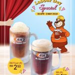 A&W Labour Day Special Promo! – A&W劳动节特别促销!