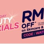Watsons Offer RM25off On Skincare & Cosmetics Deals!