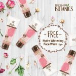 FREE Botanics Hydra & Whitening Face Wash Sample Giveaway! – 免费补水美白洗脸霜试用样品,寄到家里!